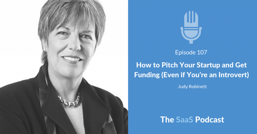 How to Pitch Your Startup and Get Funding - Judy Robinett