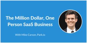 Millio Dollar Saas - Mike Carson