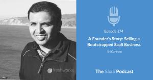 Bootstrapped SaaS - Sri Ganesan - Freshdesk