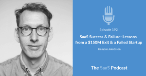 saas success & failure - Hampus Jakobsson