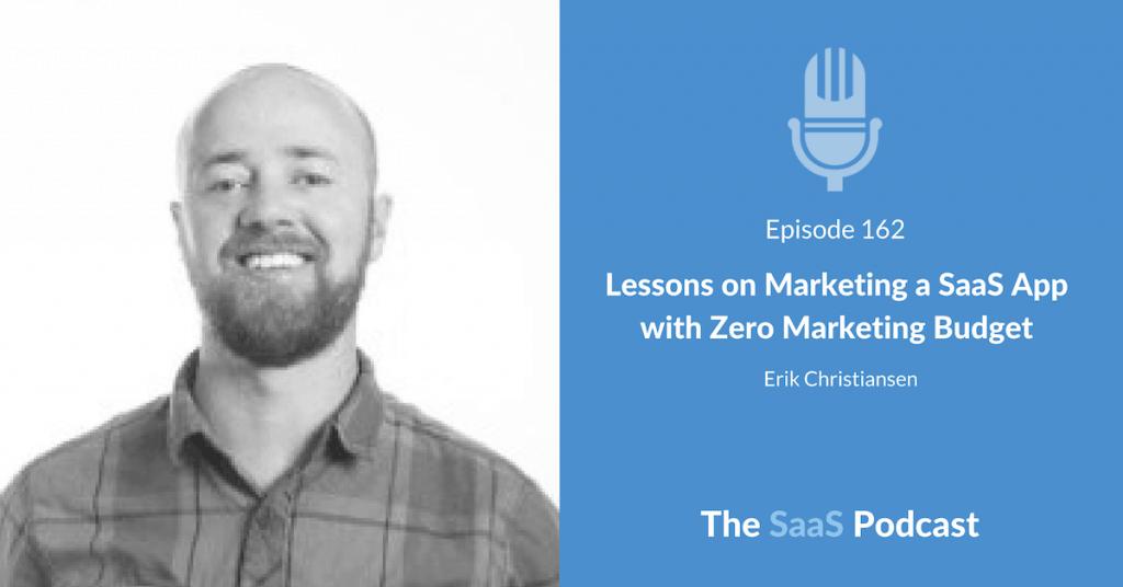 Marketing a SaaS - Erik Christiansen - JustUno