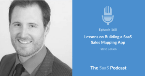 SaaS Sales Mapping App - Steve Benson - Badger Maps