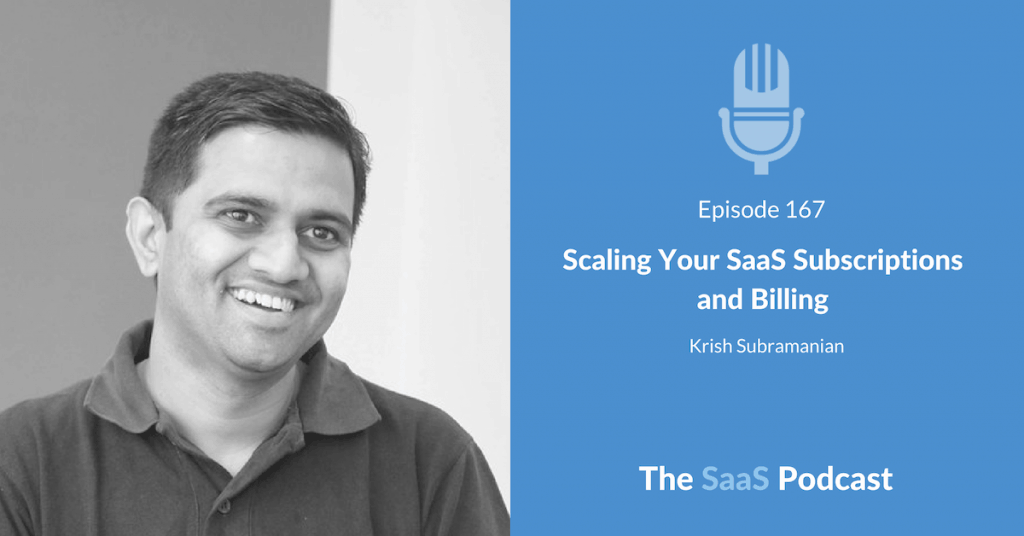 SaaS Subscription - Krish Subramanian