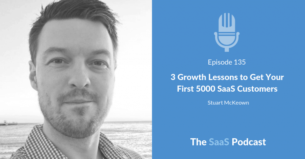 saas customers - Stuart McKeown