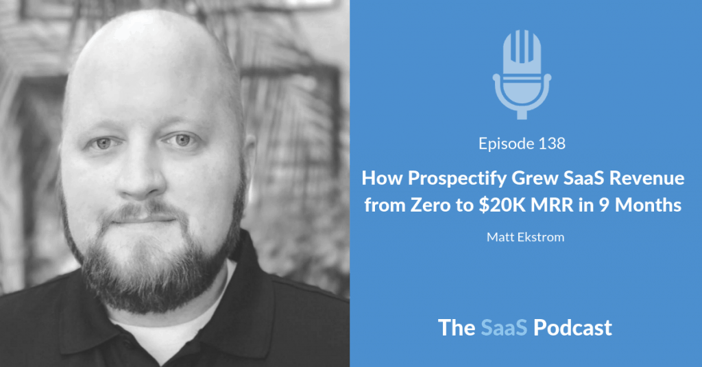 saas revenue - Matt Ekstrom