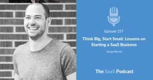 starting a saas business - Greg Mercer