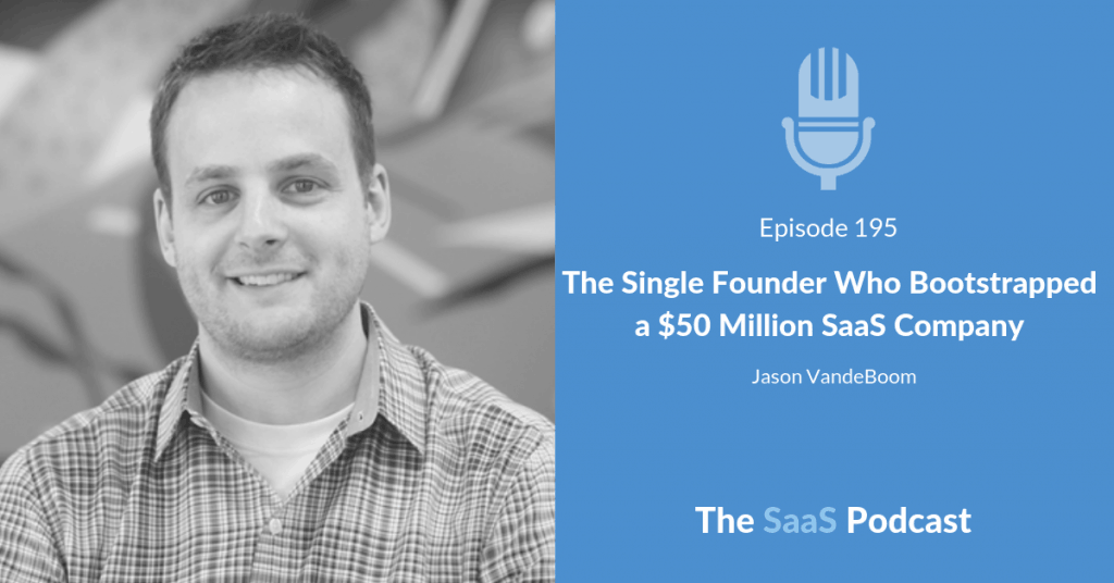 The Single Founder Who Bootstrapped a $50 Million SaaS Company