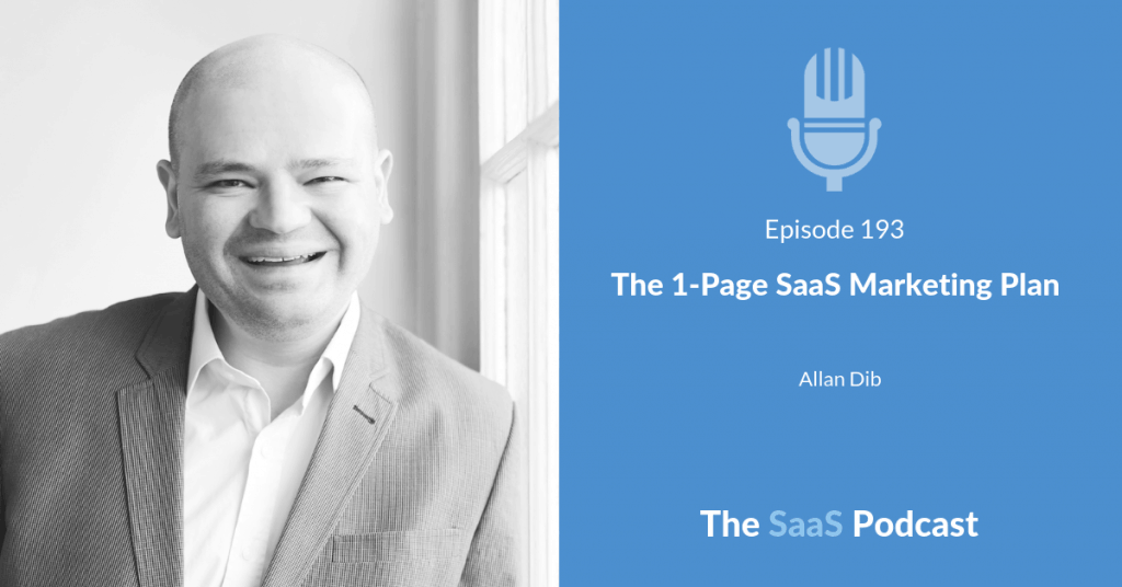 SaaS Marketing Plan - Allan Dib