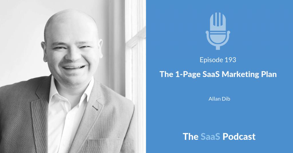 SaaS Marketing Plan - Allan Dib