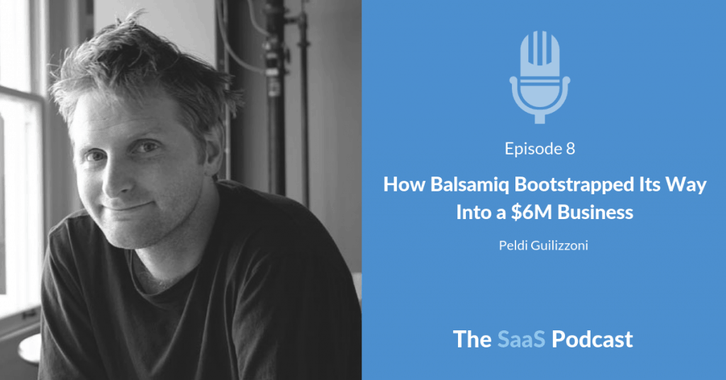 How Balsamiq Bootstrapped Its Way Into a $6M Business - with PeldiGuilizzoni