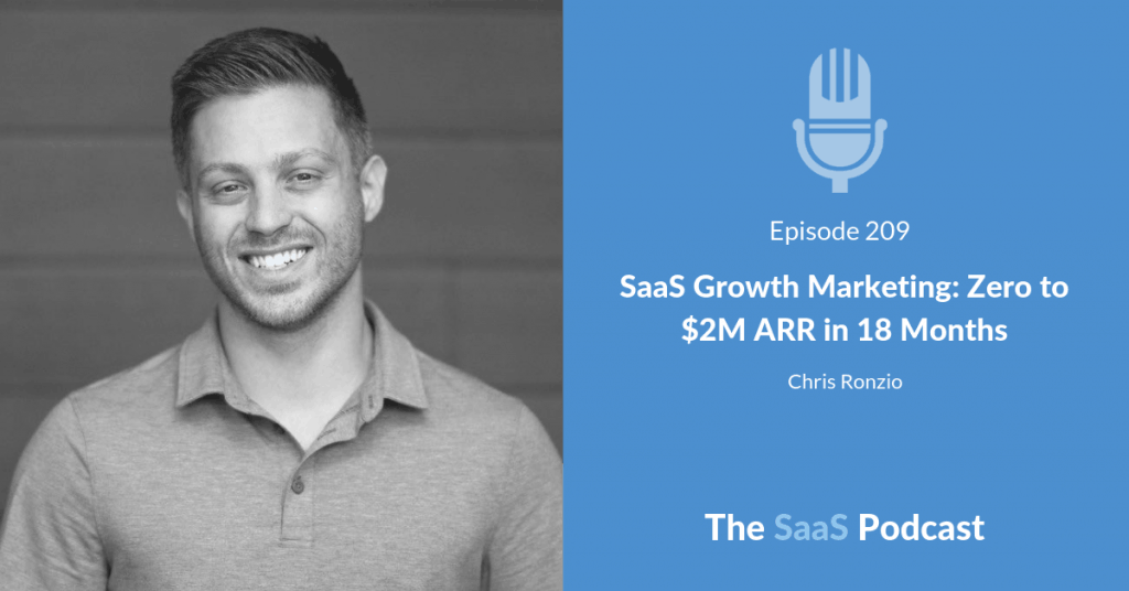 SaaS Growth Marketing - Chris Ronzio of Trainual