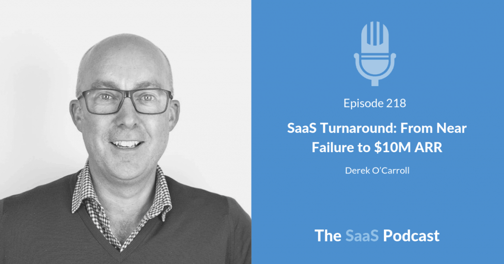 SaaS Turnaround with Derek O'Carroll of Brightpearl