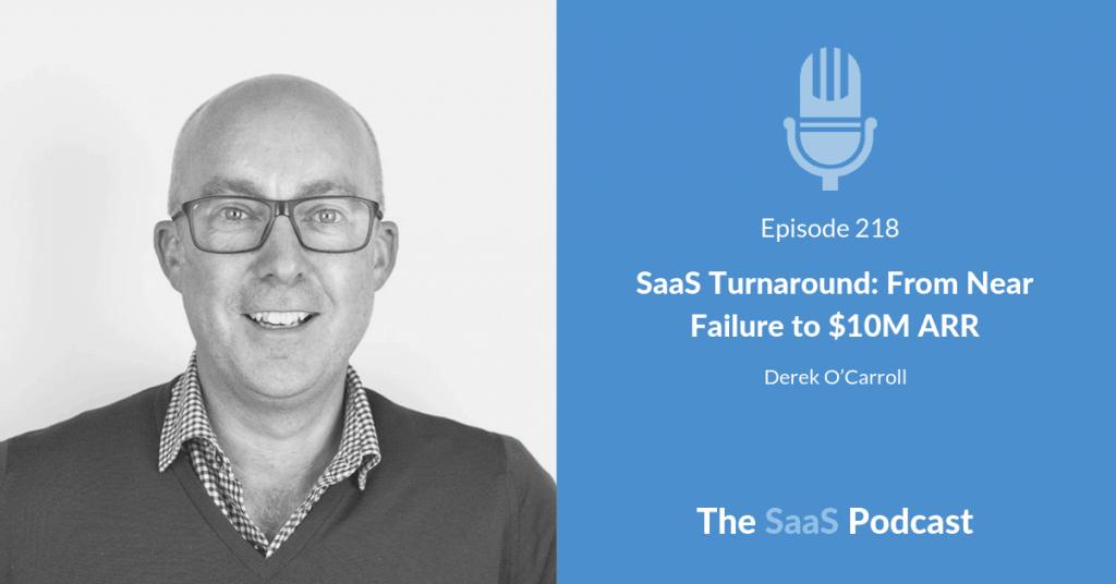 SaaS Turnaround with Derek O'Carroll of Brightpearl