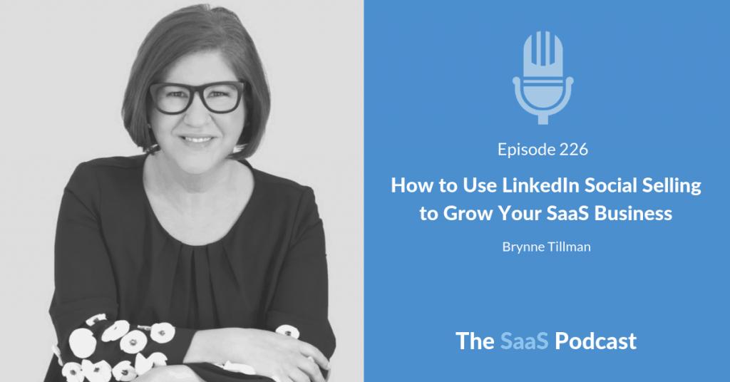 LinkedIn Social Selling -Brynne Tillman